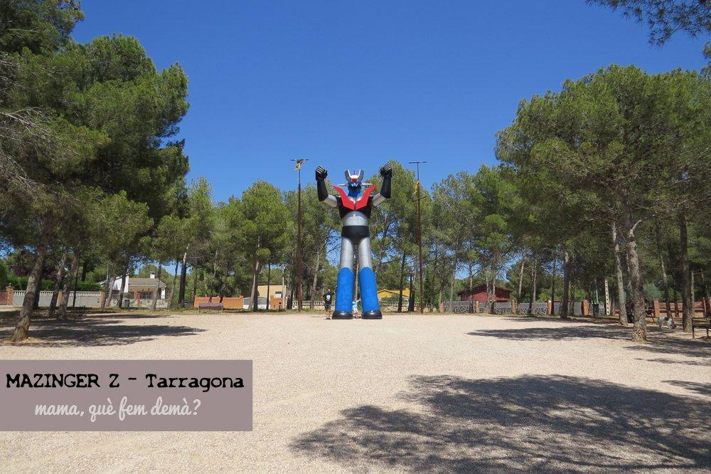 figura de mazinger z en tarragona