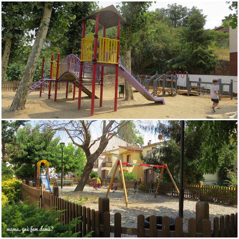 parque infanill en Vallgorguina