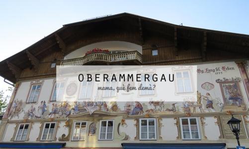 Oberammergau: donde encontramos a la Caperucita Roja y a Hansel y Gretel