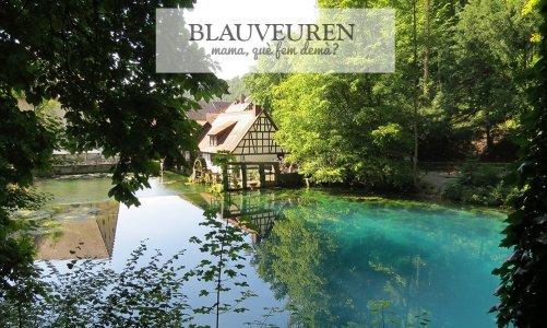 El lago azul de Blaubeuren