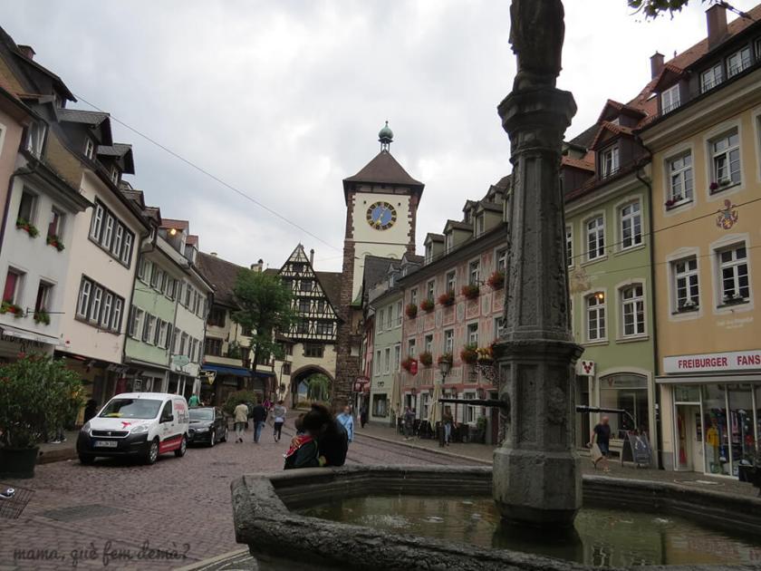 Puerta de los Suabos (Schwabentor) de Friburgo