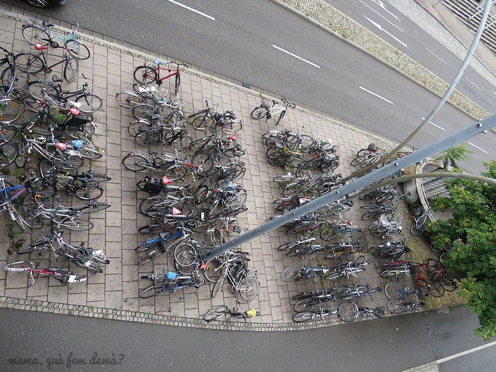 Parking de bicicletas en Friburgo