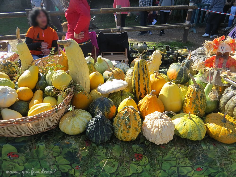 Mercado de productos de la Festa BBVA de Tardor.