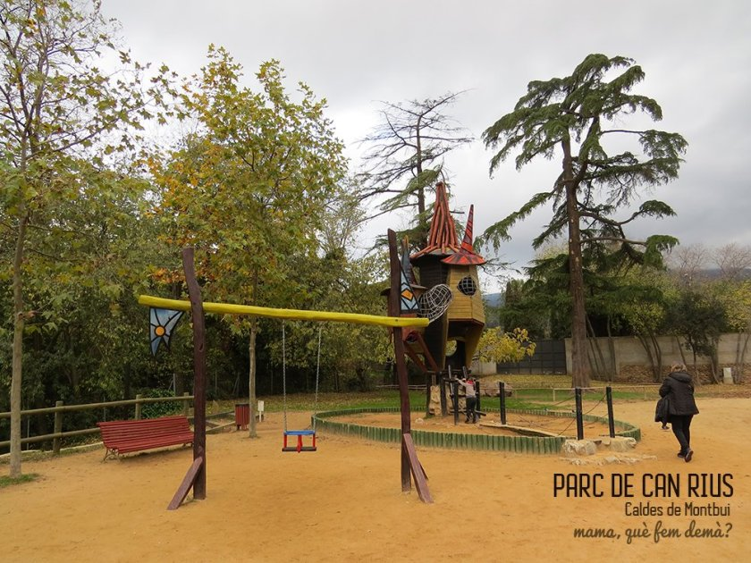 Parc de Can Rius en Caldes de Montbui