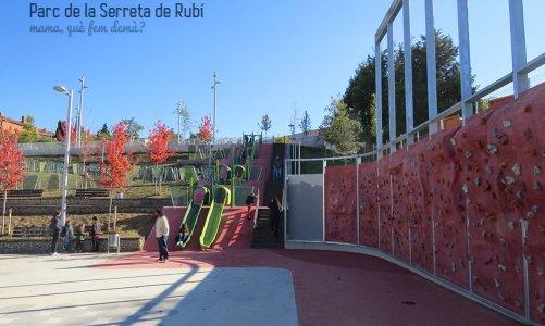 Los toboganes gigantes del Parc de La Serreta de Rubí