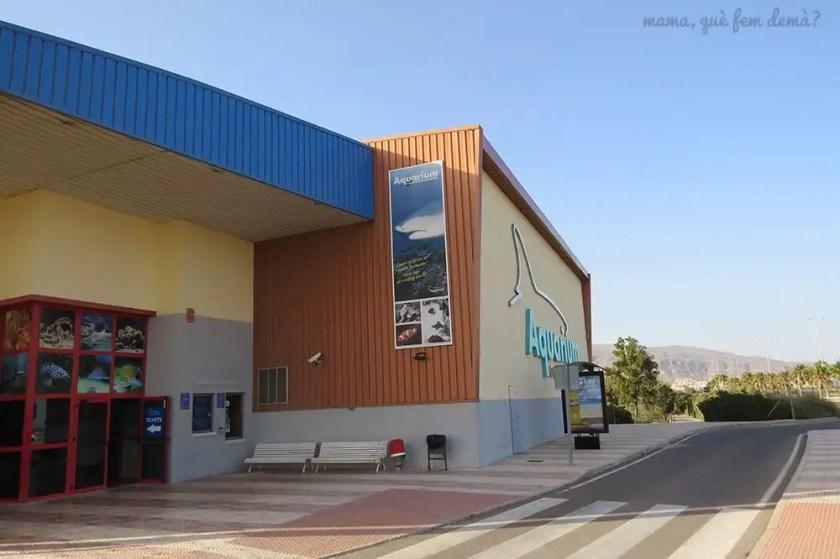 Exterior del Aquarium de Almería