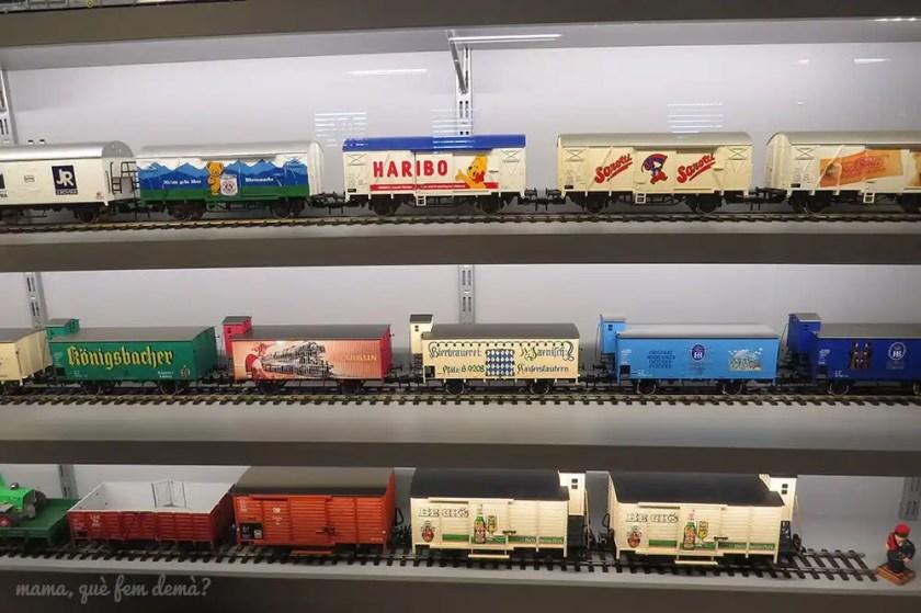 Colección de trenes