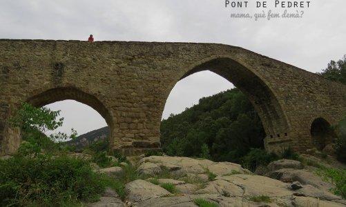 Pont de Pedret, Berguedà