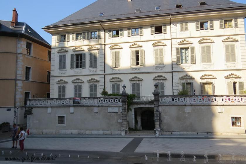 hotel de Montfalcon en Chámbery