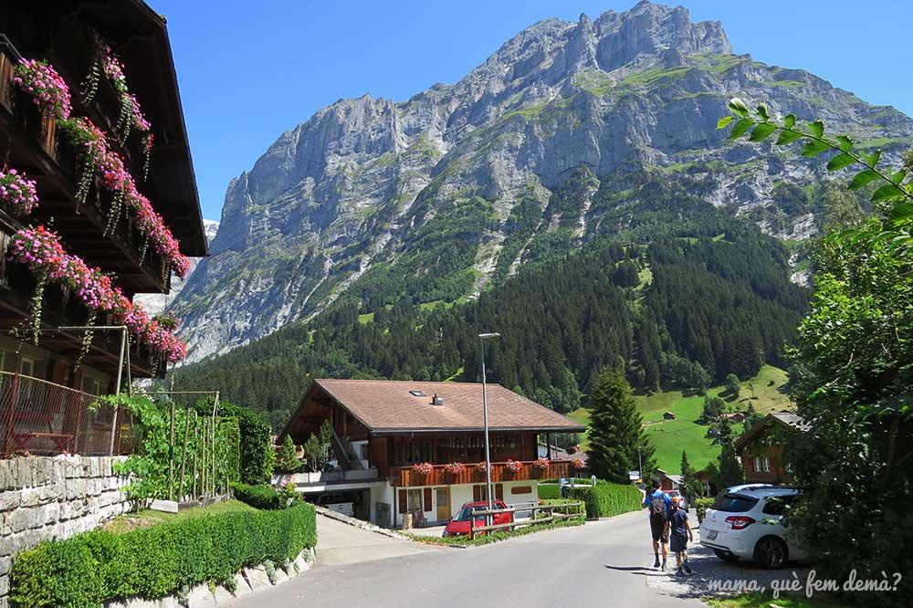 estación de Pfingstegg en Grindelwald