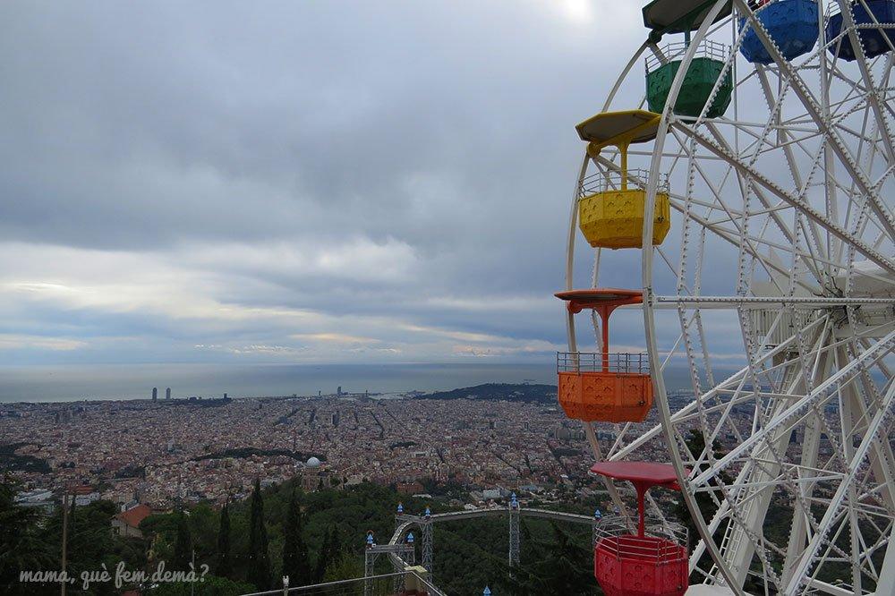 noria del tibidabo en barcelona