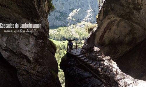 Las cascadas de Lauterbrunnen