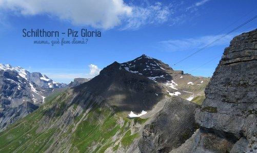 Piz Gloria: vistas de los Alpes Suizos de 360º