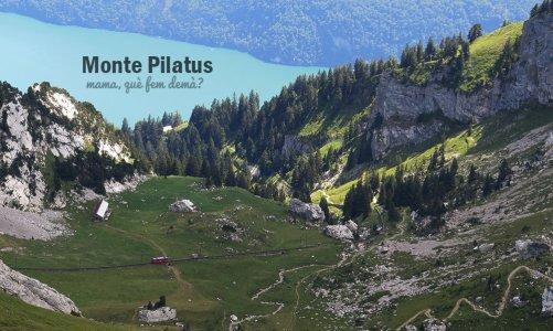 Monte Pilatus con niños, Suiza