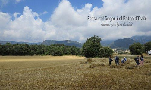 Festa del Segar i el Batre de Avià, en el Berguedà