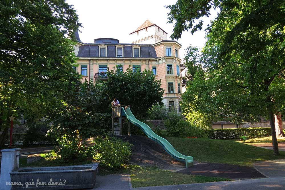 Spielplatz Musegg, parque infantil en Lucerna