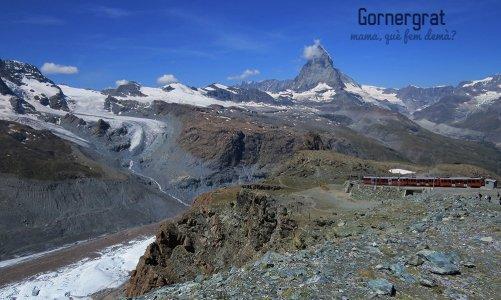 El tren de Gornergrat y el monte Cervino. Donde descubrimos la montaña perfecta