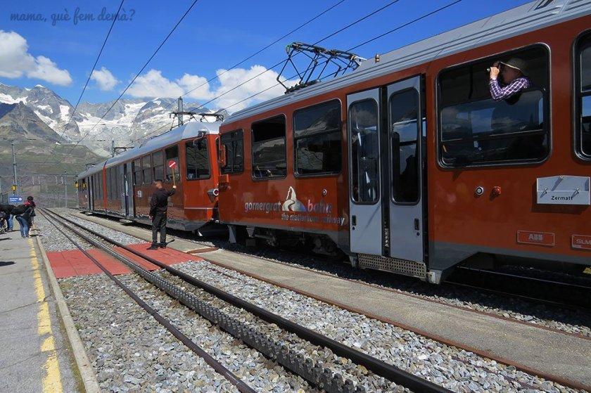 tren cremallera Gornergrat