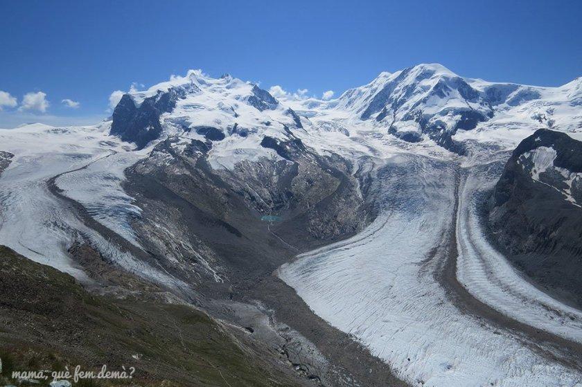 Glaciar Gornergrat y Monte Rosa