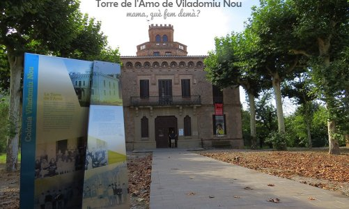 Torre de l'Amo de Viladomiu Nou y las colonias textiles del Berguedà