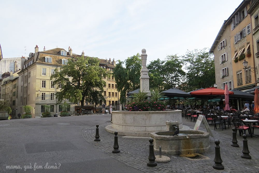 Place du Bourg-de-Four de Ginebra