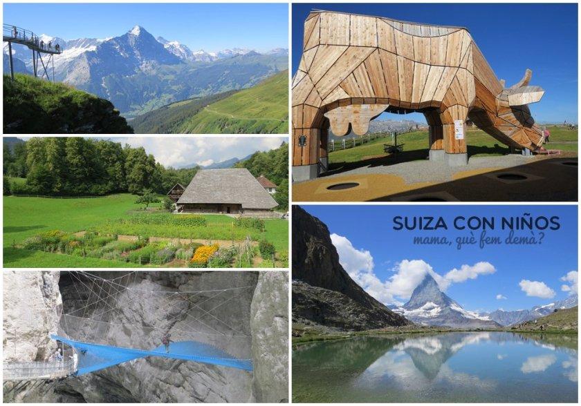vacaciones en suiza con niños