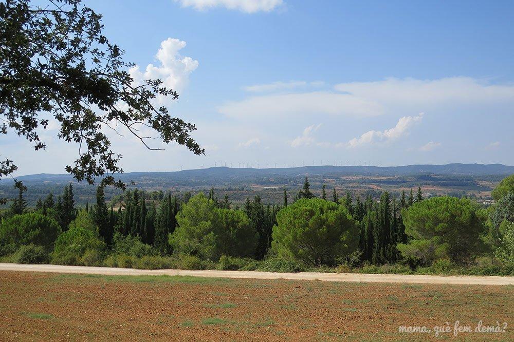 Vistas desde el Jardí de Natura El Garber