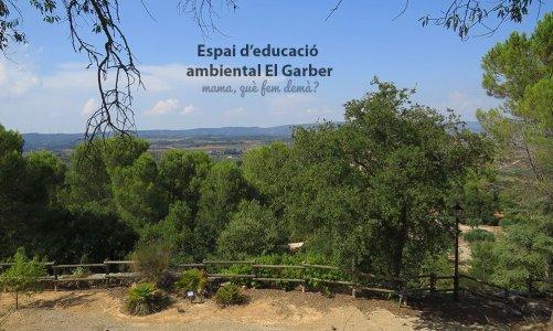 Pícnic en el Jardí de Natura El Garber en la Espluga de Francolí