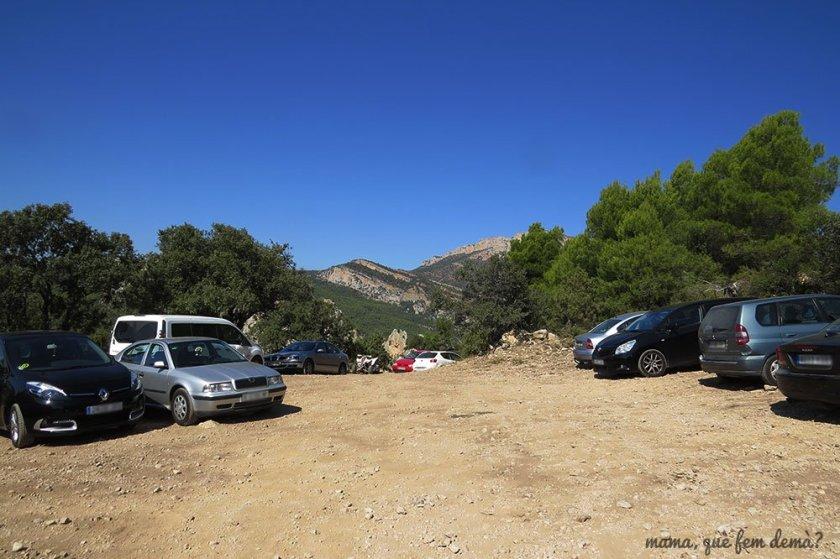 parking aparcamiento ermita pertusa montsec