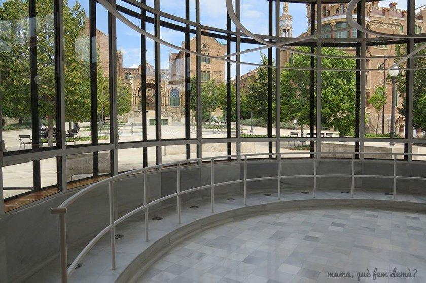 Sala de operaciones del recinte modernista Sant Pau.