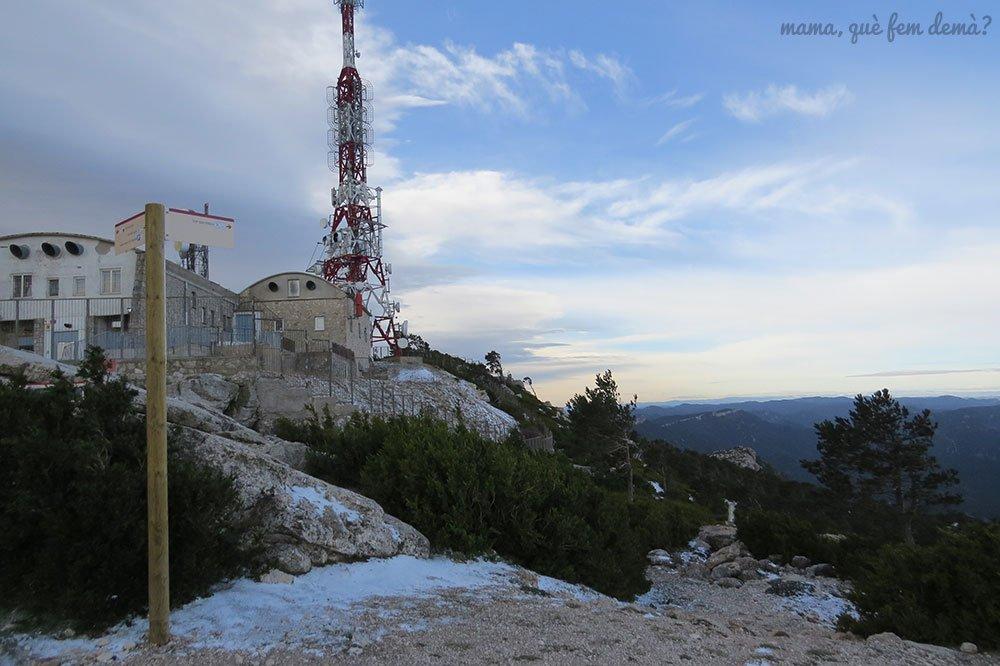 antenas del Mont Caro