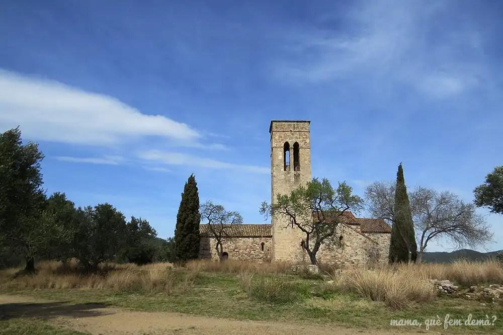 exterior de la antigua iglesia parroquial de Castellar