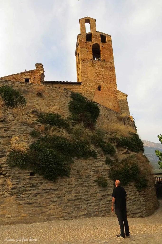 castillo y colegiata de Sant Pere de Àger