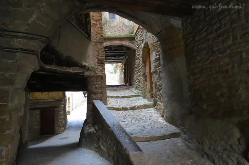 calles y túneles de Àger
