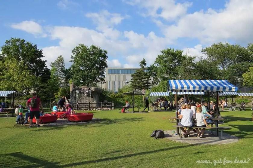 zona de picnic en Legoland Billund