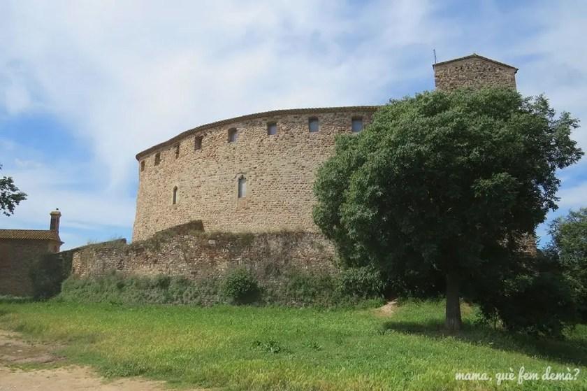 exterior del Castell de Sentmenat