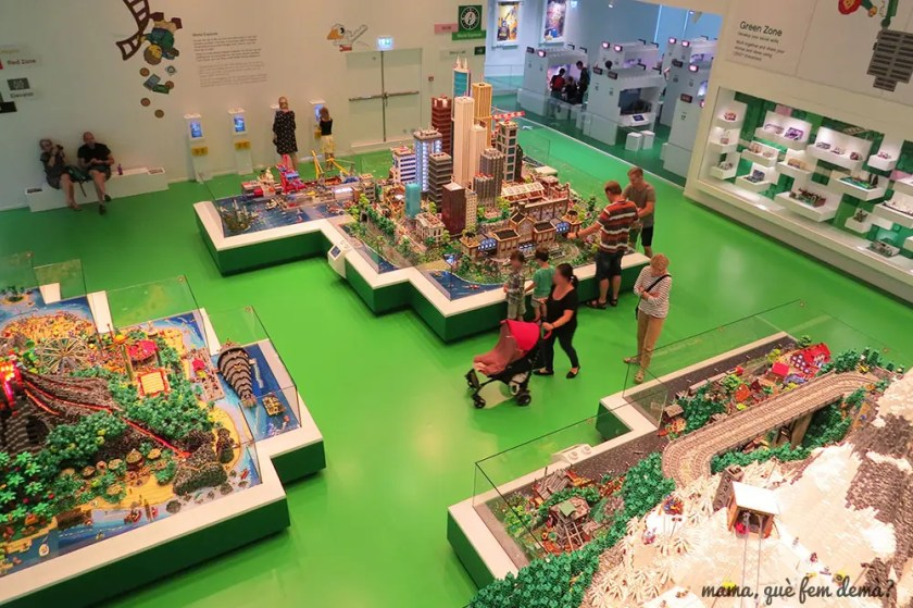 Dioramas de la Lego House
