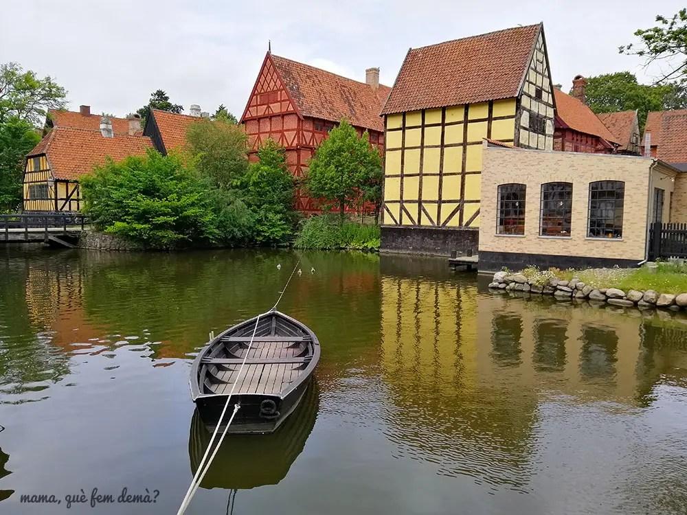 lago de Den Gamle By en Aarhus