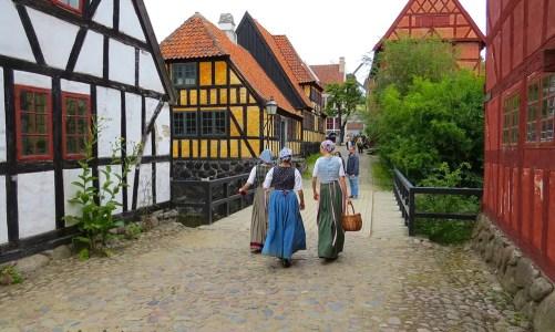 Den Gamle By, museo de casas y tiendas de época (Dinamarca)