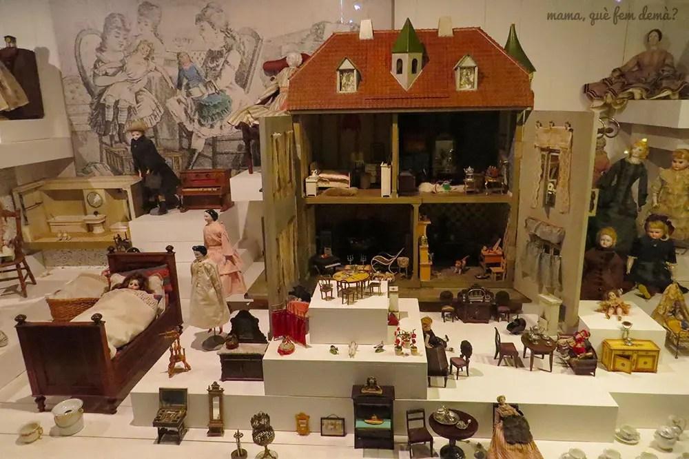 La exposición de juguetes es la más grande de Dinamarca.