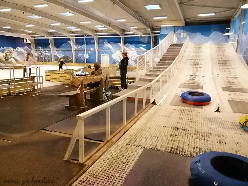 Pista de hielo de Lalandia Aquadome en Billund