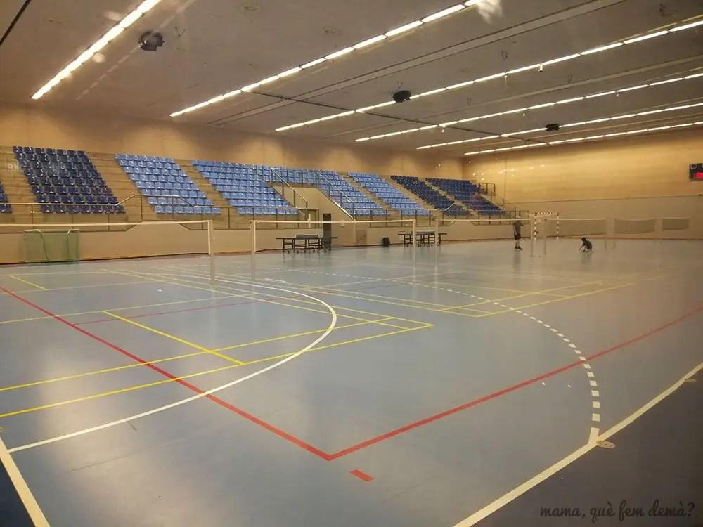 Pista deportiva de Lalandia Aquadome en Billund