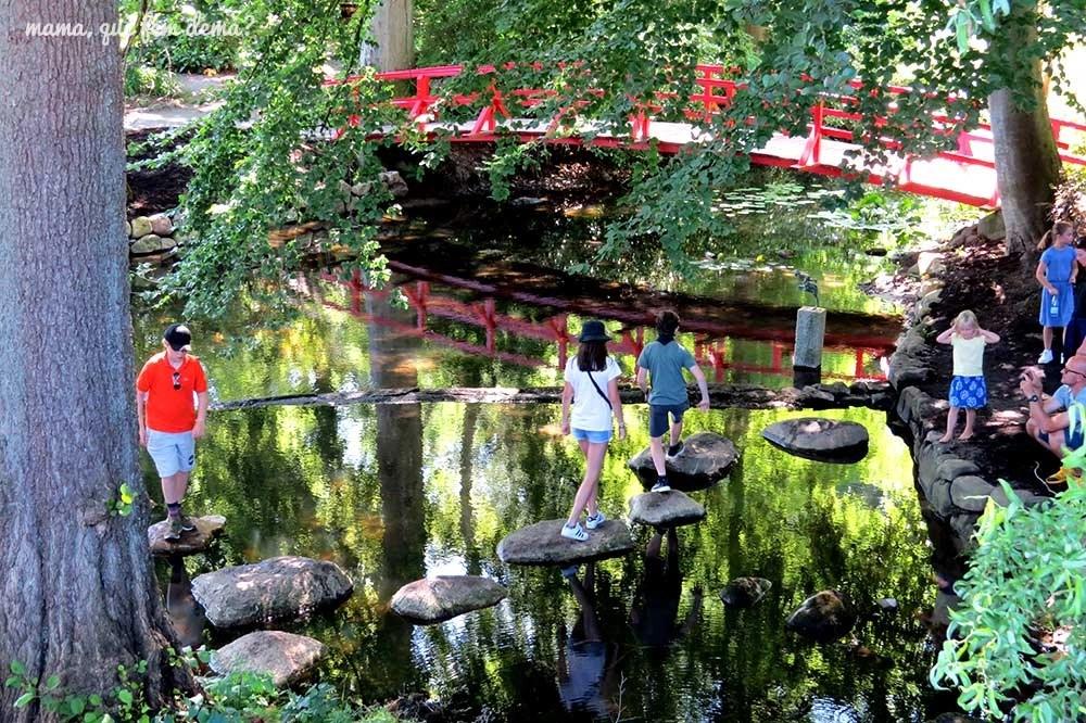 Jardín de agua del Castillo de Egeskov