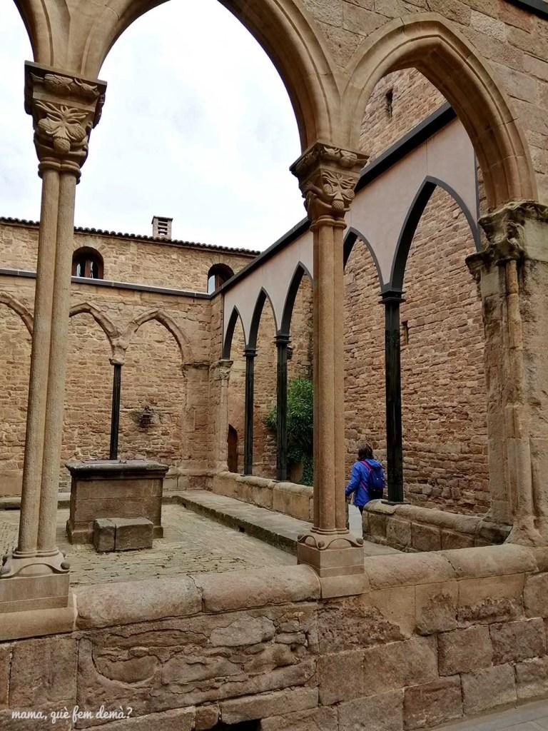 Claustro del Castillo de Cardona