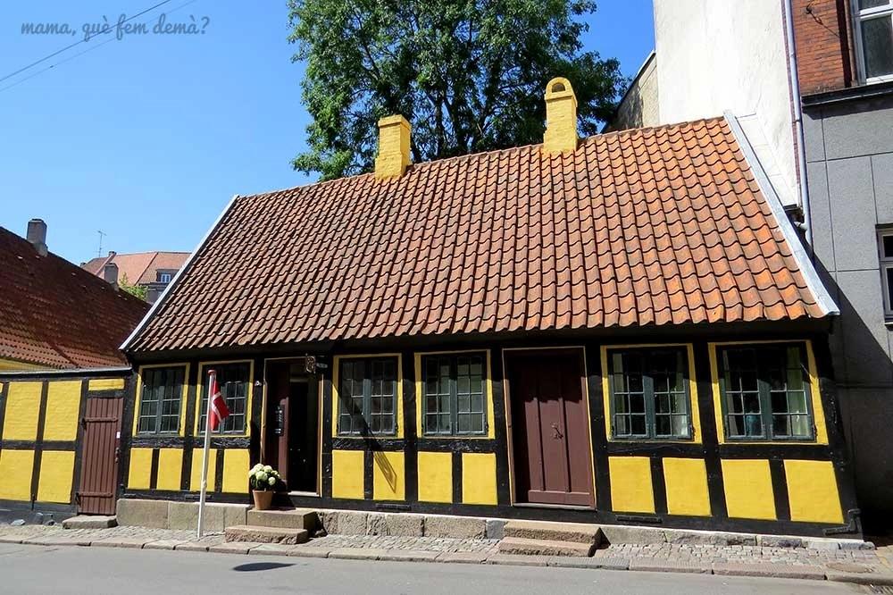 Hans Christian Andersen's Childhood Home en Odense, Dinamarca