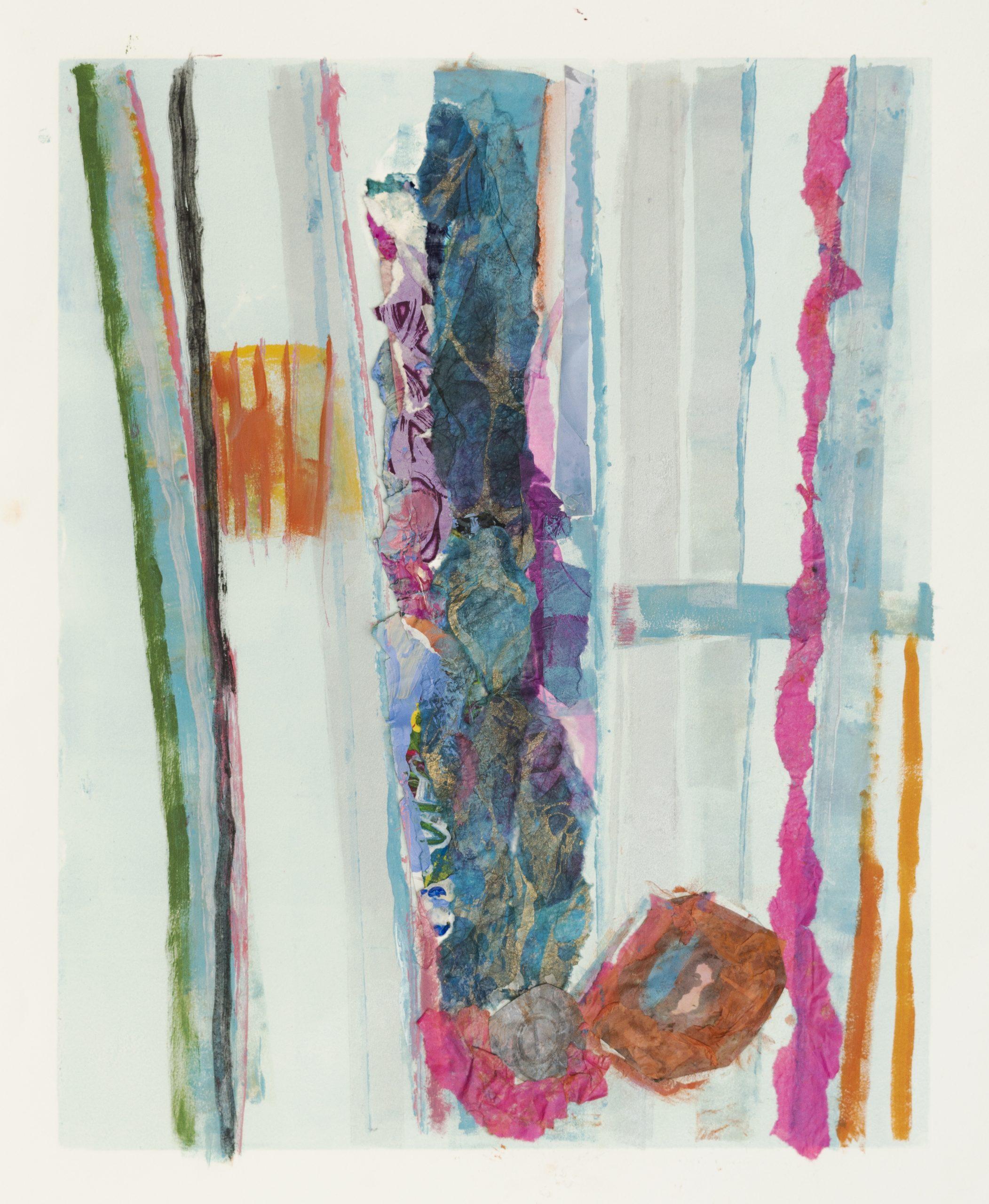 "Helen Pasternack, Birds Eye View, Mixed media, 18""x24"", $600"