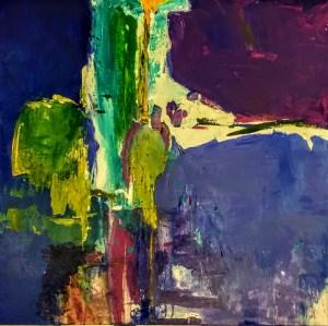 "Fabian Wes Fleurant, Untitled, Acrylic on canvas, 36""x36"", $2,800"
