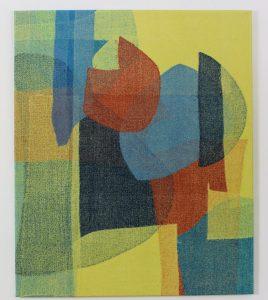 Carolina Bedoya, Warrior, Textile fiber, 30''x36'', $611