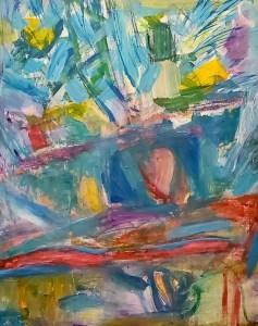 "Helen Pasternack, Still life, Acrylic, 20""x24"", $400"