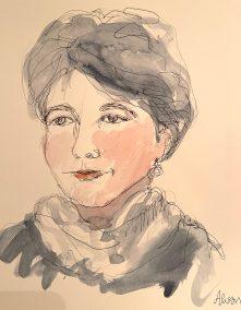 Sketch by Marion Schneider